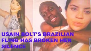 Usain Bolt's Brazilian Fling breaks silence, more girls pics come out