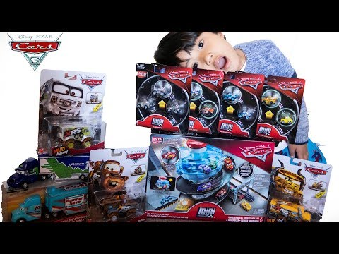 BRANDNEW Disney Cars 3 Toy Haul!!! Disney Cars Xtreme Racing Series And Wave 4 Mini Racers 3 Packs