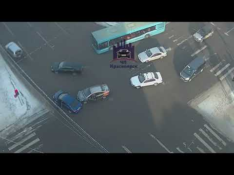 Ленина - Робеспьера 12.02.2019 ЧП Красноярск