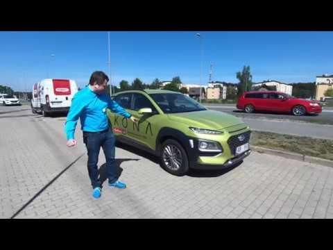 Hyundai  Kona Кроссовер класса J - тест-драйв 1