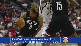 Chris Paul Not Celebrating Western Conference Finals Appearance