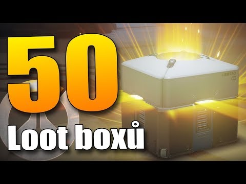 NOVÉ LUXUSNÍ SKINY!! - Overwatch 50 LOOT BOX Opening!