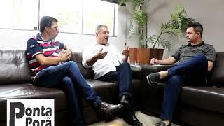 Entrevista com Prefeito Interino Vereador Candinho Gabínio