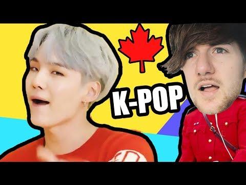 Canadian Tries K-POP   (BTS 방탄소년단 - 'DNA')
