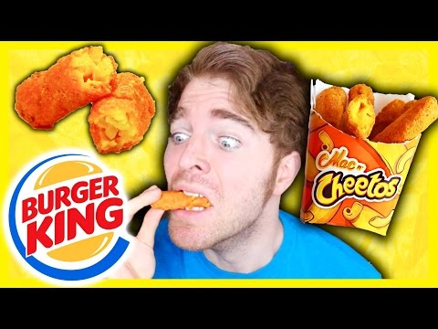 TASTING BURGER KING'S MAC N' CHEETOS!