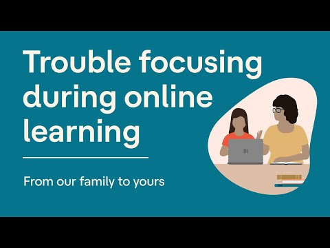 Trouble Focusing During Online Learning   From our Family to Yours ...