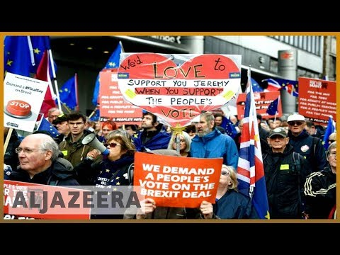 🇬🇧 UK's Labour Party to vote on launching second Brexit referendum | Al Jazeera English