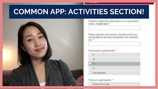 7 Tips On Filling Out Your Common Application: Activities Section