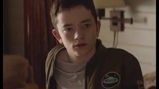 "'Boundaries' Exclusive Clip (2018)   Lewis MacDougall's ""Big Peepers"""