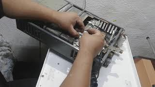 Cómo reparar una bujía de calentador de paso