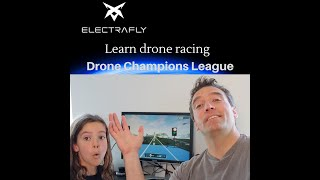 Learning to race drones with Drone Champions League game.
