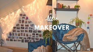 Attic Remodeling Makeover + DIY Bookcases And Shelves