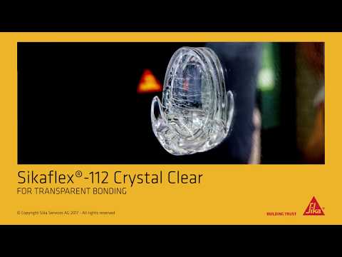 How to: Sikaflex® -112 Crystal Clear