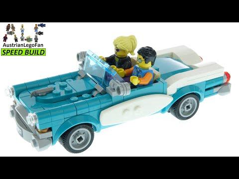 Vidéo LEGO Ideas 40448 : La voiture ancienne