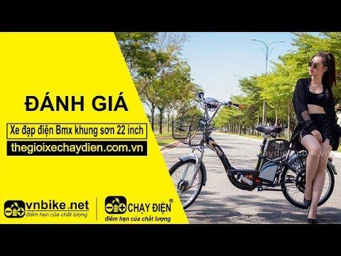 Đánh giá xe đạp điện Bmx khung sơn 22 inch