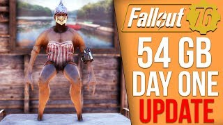 Fallout 76 News - Massive Day One Update, Bethesda Changed it's Stance on Push to Talk