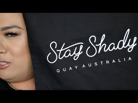 Sunglasses For People With Big A$$ Heads!  (Quay Australia Haul)