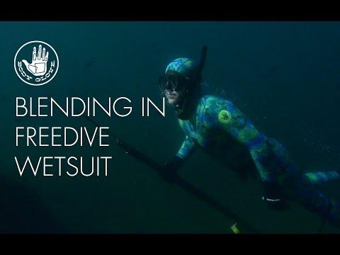 Blending In // Freedive Wetsuit