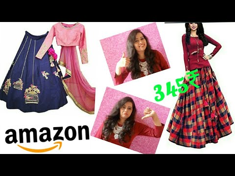 Amazon online shopping review and haul || amazon lehenga under 500 ₹