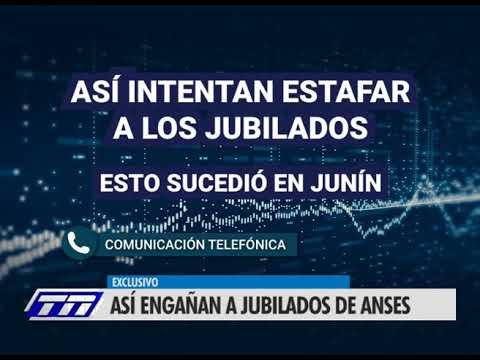 Mediante llamados telefónico así engañan a jubilados de Anses