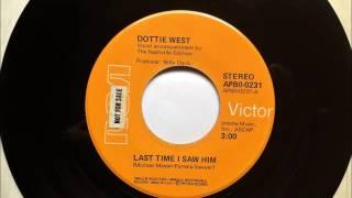 Last Time I Saw Him , Dottie West , 1974