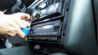 Aluminium trim kit assembly change replace removal VW Golf IV 4