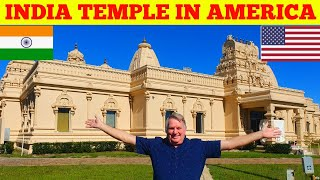 Indian Temple In America.. Temple Tour Orlando Florida, Hindu Temple.