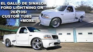 FORD LIGHTNING DROPPED ON 26X10 INTRO WHEELS! CHICAGO TRUCK SCENE! SUPER CLEAN