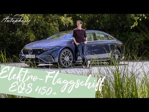 Das BESTE Elektroauto der Welt? Das 🔋 Mercedes EQS 450+ Erlebnis [4K] - Autophorie