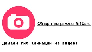 Обзор программы GifCam! {Старое имя}