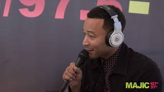 John Legend Reacts To Nipsey Hussle's Death