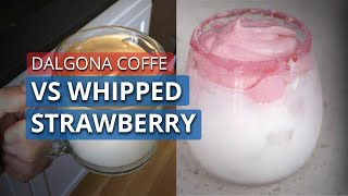 Setelah Dalgona Coffe, Kini Muncul Whipped Strawberry, Kamu Tim Dalgona atau Whipped Strawberry