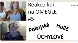 Reakce lidí na OMEGLE #5 - Pokojská, Hulič a samí ÚCHYLOVÉ ! (nEscafeX)