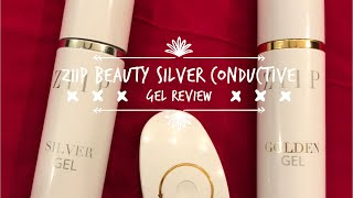 *New* Ziip Beauty Silver Conductive Gel Review and Demo