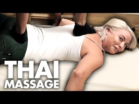First Time Getting a THAI MASSAGE! (Beauty Trippin)