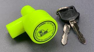 [1030] Tire-Deflating Car Lock Picked FAST!