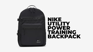 BEST NIKE BACKPACK | Nike Utility Power Training Backpack | X Reviews
