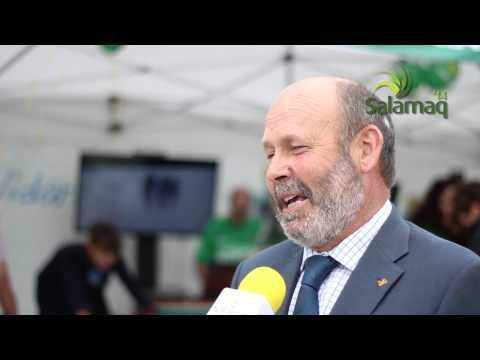 Entrevista al director de Caja Rural de Salamanca Ernesto Moronta sobre Salamaq14