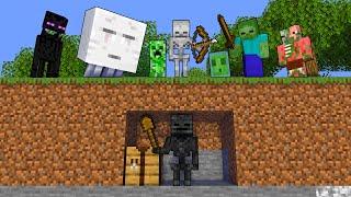 Monster School : SPEEDRUNNER VS 7 MONSTER PART 2 - Minecraft Animation