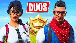 Random Duos!! *Pro Fortnite Player* // 1800 Wins // (Fortnite Live Gameplay)