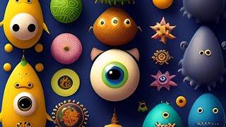 Коллекция игрушек из сюрпризов и наборов