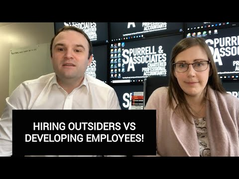 Hiring Outsiders Vs Deve
