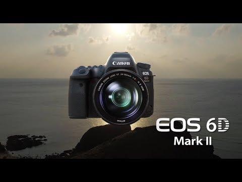Canon EOS 6D Mark II full-frame DSLR myndavél (body)-Myndband
