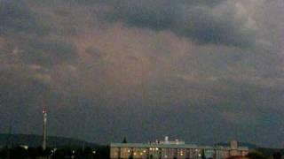 preview picture of video 'Bouřky 1.června 2008 (Thunderstorms-1st June 2008)'