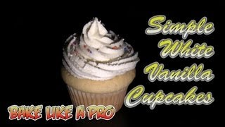 simple white frosting recipe for cupcakes