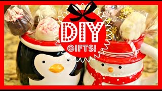 DIY HOT CHOCOLATE KIT!  DIY HOLIDAY GIFT!