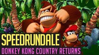 Donkey Kong Country Returns (Any%) Speedrun in 1:42:08 von Mr. Tiger | Speedrundale