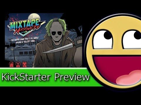 Kickstarter Preview: Mixtape Massacre