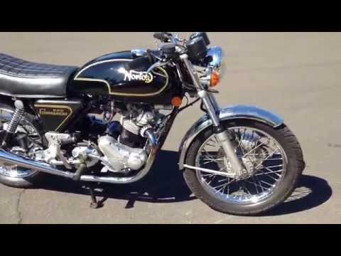 1975 Norton Commando 850 MK3 Motorcycle Video