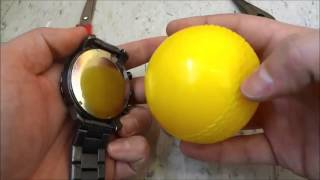 How To Open A Screw Down Watch Back WITHOUT The Right Tools